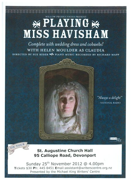 Playing Miss Havisham poster image
