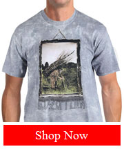 Tribut Apparel - LED ZEPPELIN - MAN WITH STICKS (MEN)