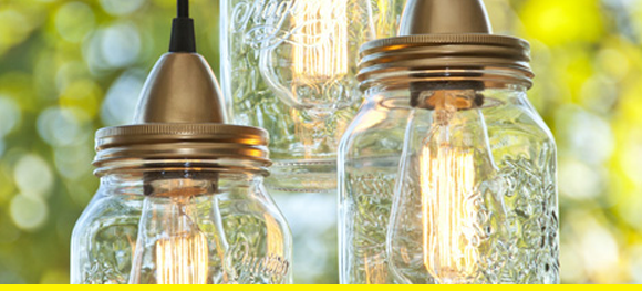 Make your own Pottery Barn lights.