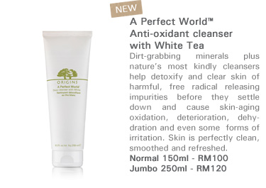 A Perfect World™ Anti-oxidant cleanser with White Tea